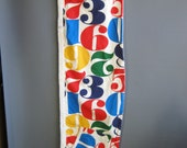 pop art 1960s pool wrap with novelty print numbers print attributed to alexander girard