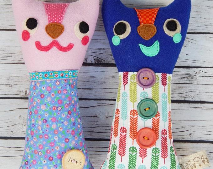 Witty Kitties Plushies Stuffed Cat Toy