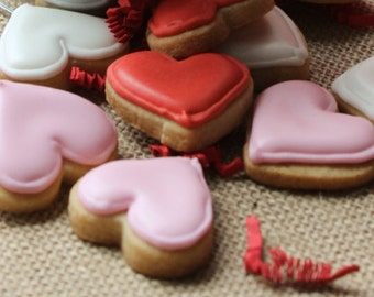 1 dozen sample mini sugar cookies, shape varies