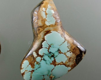 Sky Cloud Turquoise Cabochon from 49erMinerals