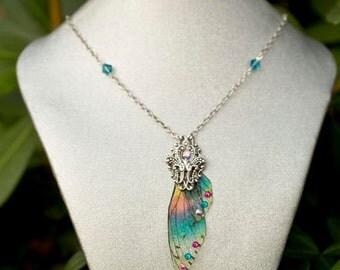 Sprite wing Necklace Silver