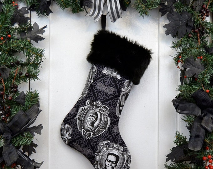The Mummy Classic Movie Monster Christmas Stocking