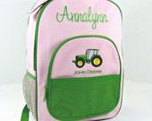 Licensed John Deere Backpack in Pink