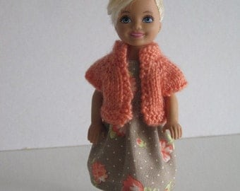 Chelsea Coral Sweater  and Dress Outfit