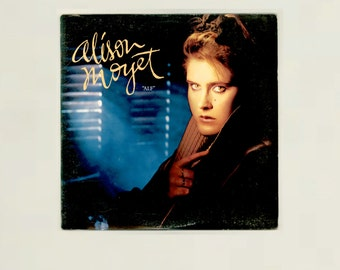 "Alison Moyet, ""Alf"" Her 1985 Solo Debut Album feturing Love Resurrection Columbia LP 39956, Vintage Vinyl Record Album"