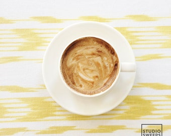 Mellow Yellow  // 5x5 Coffee Print // Travel Photography