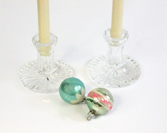 Waterford Candle Holders / SET of 2 / Vintage Irish Crystal / Mint / Giftware / Elegant Home Decor / c1980s