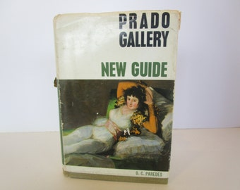 Prado Gallery - New Guide - 1965 - by O.C. Paredes with Photos