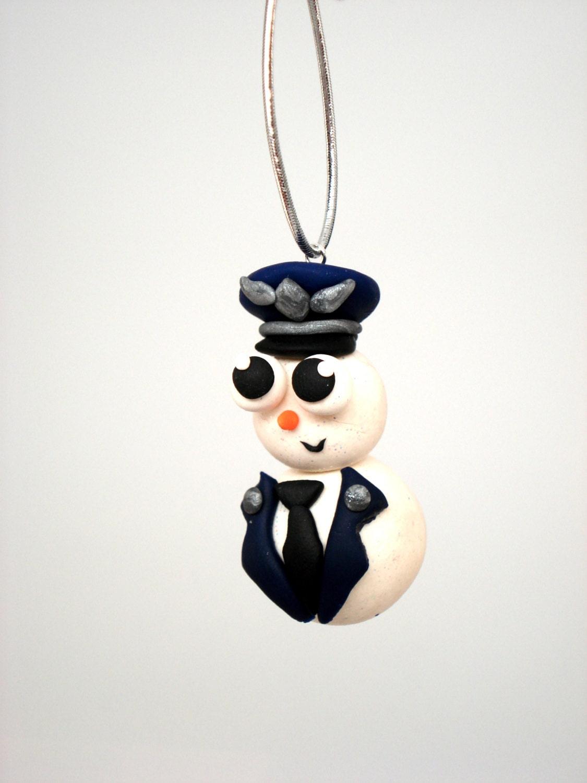 Military Christmas Ornament US Air Force Snowman Ornaments