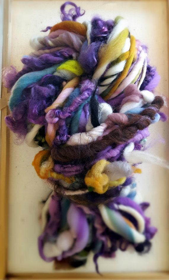 Super Bulky Art Yarn Denise Rainbow Multi Colored