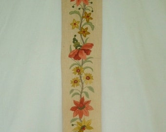 Elsa Williams Embroidery Bell Pull
