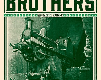Punch Brothers with Gabriel Kahane Official Concert Poster, Black Mountain, NC