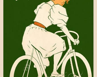 Personalized Bicycle Poster (#0269P)