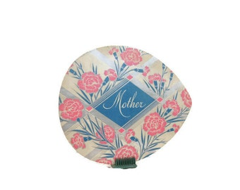 Mother's Day Card Supply, Mothering Sunday Card, Vintage Advertising Die Cut, Mother Candy Box Cover