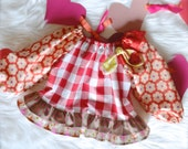 Valentines Day LOVE, girls top, valentine party wear - 18m, 2t, 3t, 4t, 5 - Ready to Ship, Free Shipping