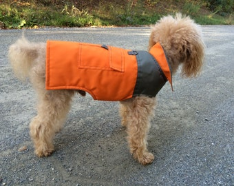 """Dog """" Trail"""" Parka Jacket, Lightweigh, Waterproof, Small dog only"""