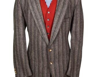 50L Patch Pocket Preppy Tweed Blazer