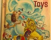 Vintage Rand McNally Book Baby's Animal Toys