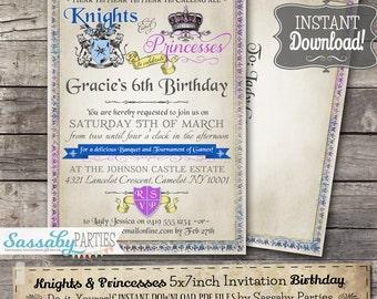 Medieval Invitation Etsy