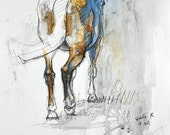Horse Art, Animal, Modern...
