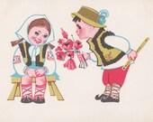 Ukrainian Postcard by O. Miklovda -- 1966. Condition 8/10
