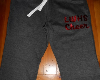 Custom Jogger Sweatpants with Logo