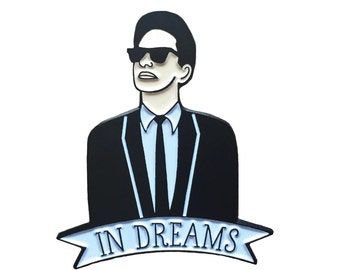 Roy Orbison enamel pin