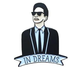 Roy Orbison enamel pin
