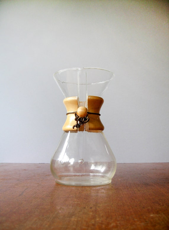 Vintage Chemex Coffee Maker / Carafe 40 Ounce / 8 Cup