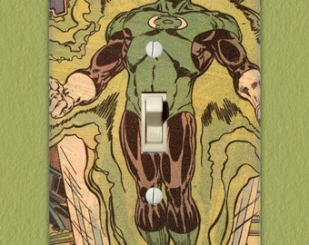 Green Lantern - Superhero Light Switch Plate