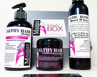Malena's Healthy Hair Treatment Box