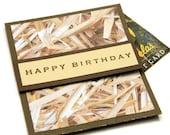 Rustic Gift Card Holder - Birthday Gift Card Holder - Birthday Money Envelope - Gift For Hunter