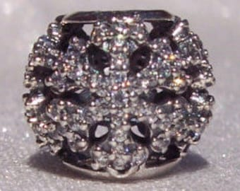 Authentic Pandora, Let It Snow, Bracelet Charm, Black Friday, Limited Edition, Retired Snowflake, Sterling, 925 ALE Cz, FREE SHIPPING