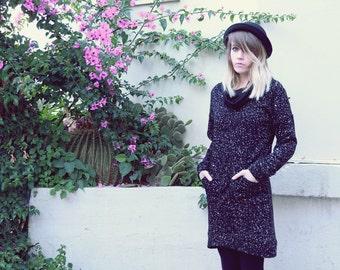 Turtleneck dress, Sweatshirt Dress, Long sleeves dress