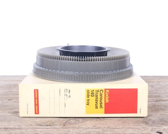 Vintage Kodak Carousel Transvue 140 Slide Tray / Eastman Kodak Company Slide Tray / Old Slide Tray / Antique Slide Tray / 35mm Slide Tray