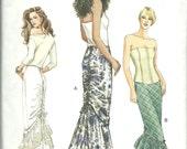 Vogue Pattern 8003 Miss Mermaid Long Skirt Victorian Steampunk (12 14 16) UNCUT