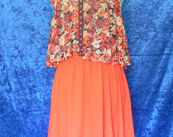 baby doll blouse and skirt size small
