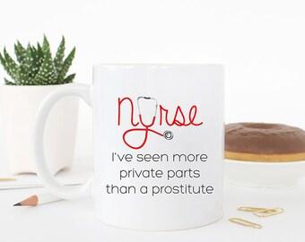 Funny Nurse Mug, Nurse Mug, Nurse Gifts, RN Mug, Nurse Retirement gift, Coffee Mug Nurse, Funny Nurse Gift, Nurse Cup, Gifts for Nurse