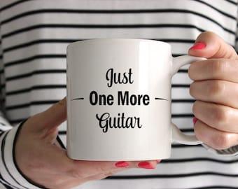 Just One More Guitar Mug