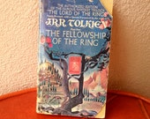 The Fellowship of the Ring by JRR Tolkien paperback 1972 edition