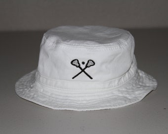 Bucket Hat with Chinstrap for Infants and Toddlers; Personalized