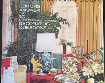 Vintage March 1969 House Beautiful Magazine Good Condition 178 Pages
