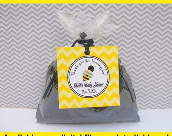 Bumble Bee Favor Tags - Bumble Bee Thank You Tags -  Baby Shower Gift Tags - Bee Gift Tags - Digtal & Printed