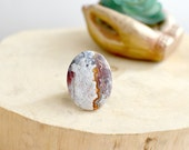 Agate Lace Ring