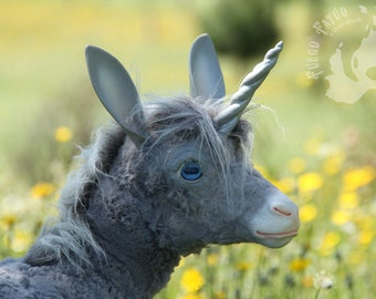 PREORDER Grey unicorn fawn