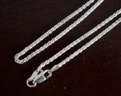 20 in Chain Sterling Silver Wheat Spiga chain , 20 in chain , .925 , Sterling silver chain , Wheat Spiga chain