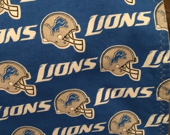 Detroit Lions, Michigan, Receiving Blanket, Baby Blanket, Football, Lions, Reversible Blanket, Flannel, Lions Baby Blanket