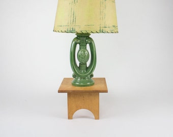 Mid Century Lamp with Shade / Retro Table Lamp / 1950's Table Lamp / Mid Century Table Lamp / Vintage Table Lamp / 1950's Lamp