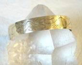 Vintage 1960s Birks Jewellers Engraved Gold Filled Childs Cuff Bracelet Open Bangle
