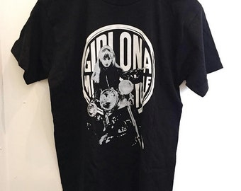 The Girl on a Motorcycle T-shirts (*Never been worn)